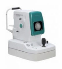 nonmyd α-DIII ー 眼底写真を撮ります。目の奥の血管の動脈硬化を調べます。
