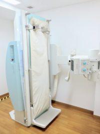 島津製作所 FLEXAVISION キャノン FPD(フラットパネルディテクター) ー 胸部レントゲン・腹部レントゲン・胃透視(胃バリウム)検査をします。